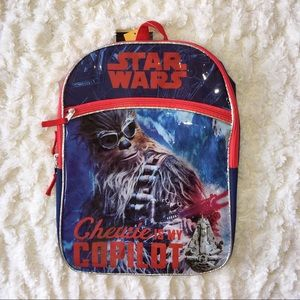 (NWT) Boys Star Wars Backpack